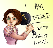 Tangled- Christ Love:Spoilers: by YourViolentStalker
