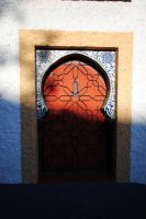 A door. Tell me that you love me in Arabic. by phakeplastic