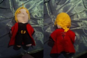 Edward Elric !+FMA+! Button Eye Doll by GlitterFox