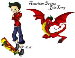 Jake Long by Inked-Alpha