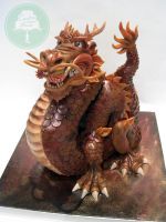 The Dragon King (Cake) by Sliceofcake
