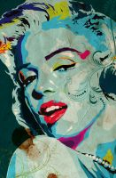 Marilyn by Monzer