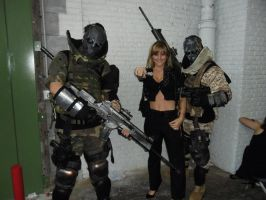 Army of Two Cosplay by Darthforcer