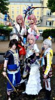 Final Fantasy Cosplay Group by Sadochi