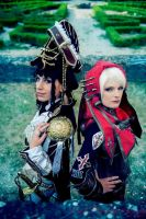 Trinity Blood : Jane and Paula by YoukaiYuurei