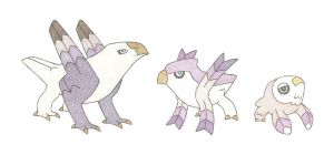 Griffin fakemon by thefirebreather