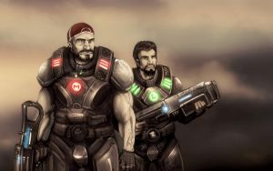 Bros Of War by DVan7