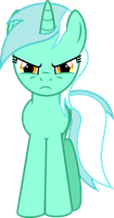 Commission: Angry Lyra by Kired25