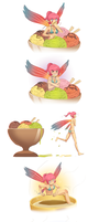 Erylia Ice Cream Dipping by MLeth