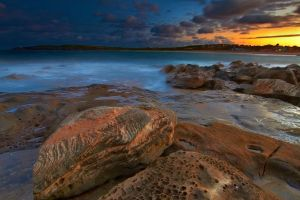 Sunset on Maroubra by MarkLucey