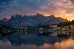 Lago Misurina by StevenDavisPhoto