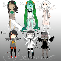 Elemental Adopts (Open) by sephielker
