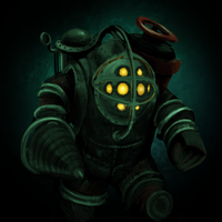Bioshock: Big Daddy by LuciferZillyhoo