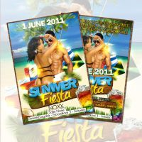 Summer Party Flyer by Adriano09