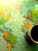 The World In One Tea Cup by Beey