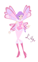 New OC: Lily, fairy of love (Lovix form) by DarleenEnchanted