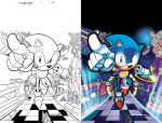 Sonic Super Digest 04 Cover by herms85