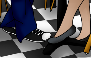 .:Request:. Footsies by Sabrina-Tellijohn