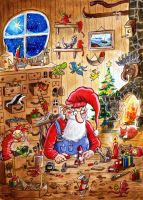 Santa's workshop by HaakonLie