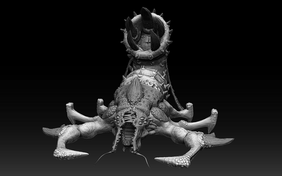 Trapper Zbrush Sculpt (Tremulous) by Dandoombuggy