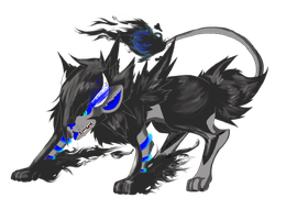 Luxray Familar by SometimesCats