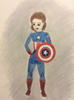 Peggy Carter, the first avenger. by Leanneisme