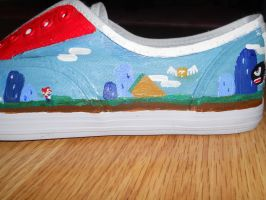 Super Mario Shoes pic. 5 by Sagojyousartpage