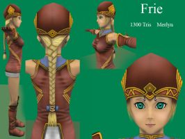Valkyrie Profile Frie Detail by 0202742