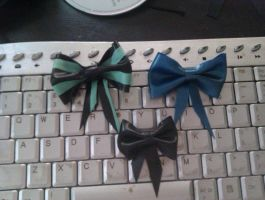 Small selection of bows by SarahInTortureland