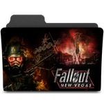 Fallout New Vegas Folder Icon by JokerXVII