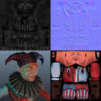 Clown Textures by Jack-Kirby-Crosby