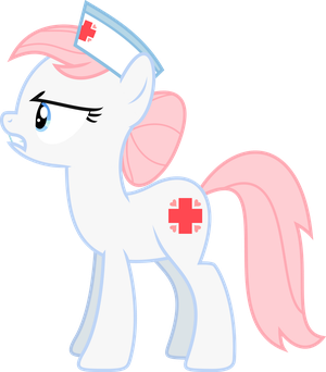 Nurse Redheart is dissapointed by Skie-Vinyl