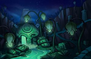 Temple of the Ancients by Curly-Artist