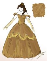 Belle costume by jackieocean