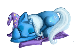 One Layer Challenge : Trixie by Pon3Splash