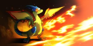 Stand brave Flygon by super-tuler