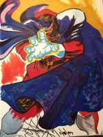 m bison or balrog by DethGunz