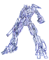 Optimus Prime Doodle by gangc