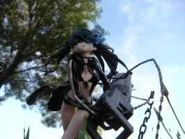 Black Rock Shooter Normal color. by PokepictureFigurefun