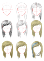 Hair Tutorial by wick-y