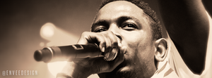 Kendrick Lamar - Facebook Cover Photo by enveedesigns