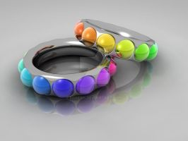 Rainbow rings by egresh