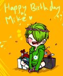 Mike Bday by c-artbox