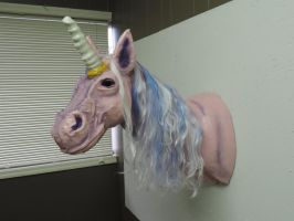 Paper Mache Unicorn by Lordnightbane