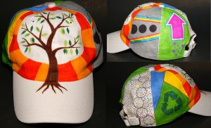 Tree-Recycle Hat by explicitly