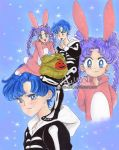 usagi and mamoru halloween-these sweets are for me by zelldinchit