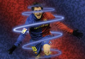 Lionel Messi Wallpaper by Onatcer