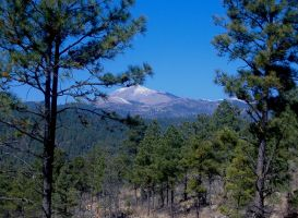 Sierra Blanca Peak, New Mexico by DeloreanREB