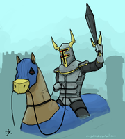 Request - The Knight by chuylol14