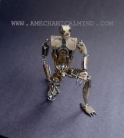 Number 5 (Articulated Watch Parts Figure) III by AMechanicalMind